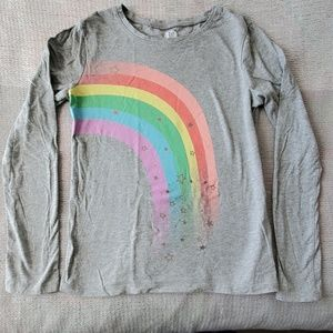 Girls Rainbow Shirt